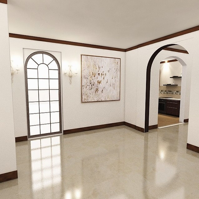 marble interior project